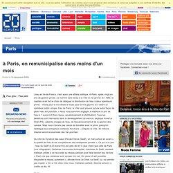 à Paris, on remunicipalise dans moins d'un mois