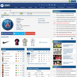 Paris Saint-Germain : PSG - Club Foot Paris