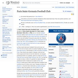 1970 Paris Saint-Germain Football Club - wikipedia
