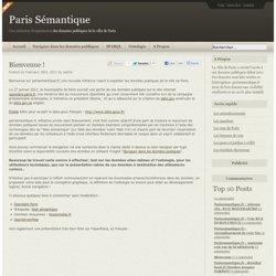 Paris Sémantique
