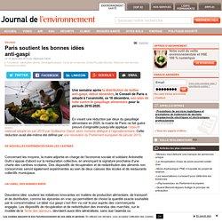 JDLE 16/12/15 Paris soutient les bonnes idées anti-gaspi