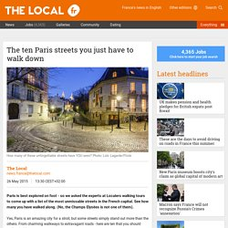 The ten Paris streets you just have to walk down - The Local