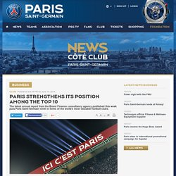Paris strengthens its position among the top 10 - Club