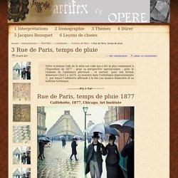 3 Rue de Paris, temps de pluie - - Trottoirs de Paris -