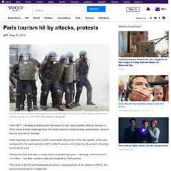 Paris tourism hit by attacks, protests