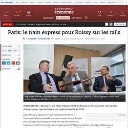 Paris: le train express pour Roissy sur les rails