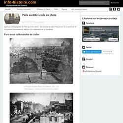 Paris en photo - une traversée du XIXe siècle !