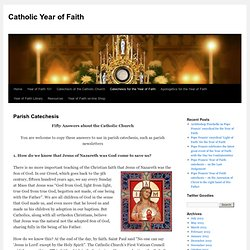 Catholic Year of Faith