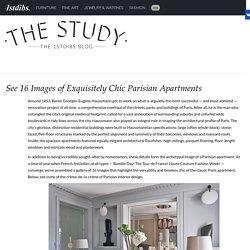Parisian Interior Design: 16 Images of Chic Paris Apartments & Style