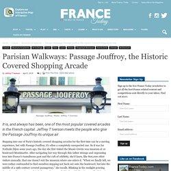 Parisian Walkways: Passage Jouffroy, the Historic Covered Shopping Arcade
