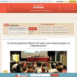 Le lycée parisien Henri-IV teste lalicence «à l'américaine»