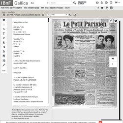 Le Petit Parisien : journal quotidien du soir