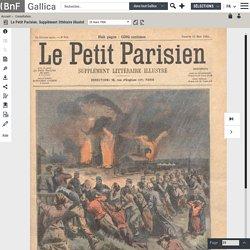 Le Petit Parisien. Supplément littéraire illustré