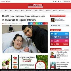 FRANCE : une parisienne donne naissance à son 14 ème enfant de 14 pères différents. - Guinee People