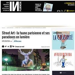 Street Art : la faune parisienne et ses paradoxes en lumière