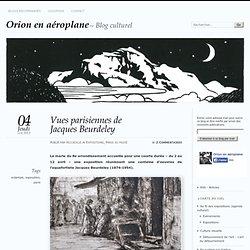 Vues parisiennes de Jacques Beurdeley