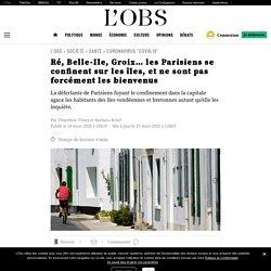 Ré, Belle-Ile, Groix… les Parisiens se confinent sur les îles, et ne sont pas forcément les bienvenus