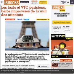 Les taxis et VTC parisiens, héros improvisés de la nuit des attentats