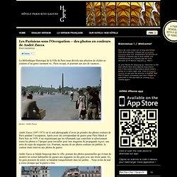 Les Parisiens sous l'Occupation – des photos en couleurs de André Zucca
