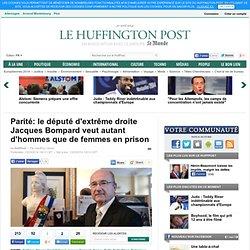 Parité: le député d'extrême droite Jacques Bompard veut autant d'hommes que de femmes en prison