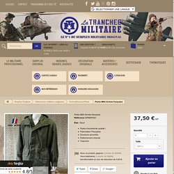 Parka satin 300 Armée française