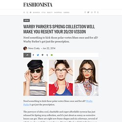 Warby Parker's Spring Collection Will Make You Resent Your 20/20 Vision