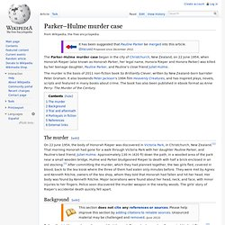 Parker–Hulme murder