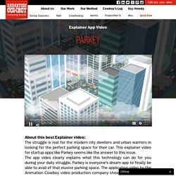 Parkey - Explainer application video