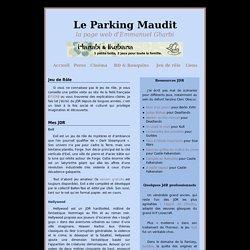 Le Parking Maudit (page web d'Emmanuel Gharbi)