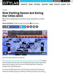 How Parking Spaces Are Eating Our Cities Alive