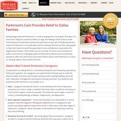 Parkinson's Medications & Nursing Care, Dallas
