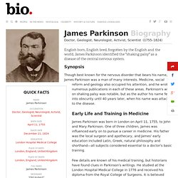 James Parkinson Biography
