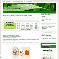 Remèdes naturels luttant contre Parkinson