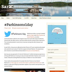 #Parkinsons1day