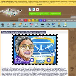 Rosa Parks Biography for Kids – The First Lady of Freedom «