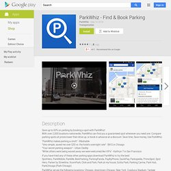 ParkWhiz - Find & Book Parking