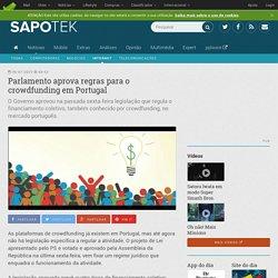 Parlamento aprova regras para o crowdfunding em Portugal - SAPO Tek
