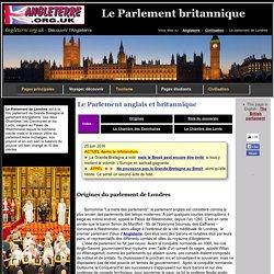 Le Parlement anglais et britannique