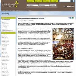 Parlement des Entrepreneurs d'avenir 2013 : la maturité
