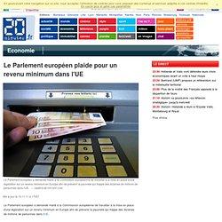 Le Parlement européen plaide pour un revenu minimum dans l'UE