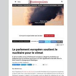 Le parlement européen soutient le nucléaire pour le climat