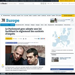 une loi facilitant le règlement des arriérés d'impôts - Le Monde 21/03/15