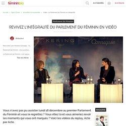 Vidéo : Le Parlement du Féminin en intégralité