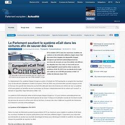 Le Parlement soutient le système eCall dans les voitures afin de sauver des vies
