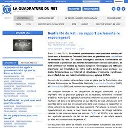Neutralité du Net: un rapport parlementaire encourageant