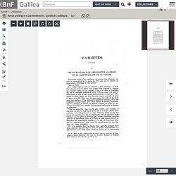 14-18.- Révélations de [Wangenheim] ambassadeur allemand et la responsabilité de la guerre