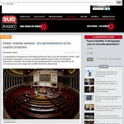 Cumul, revenus annexes : les parlementaires et les conflits d'intérêts