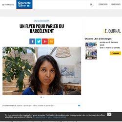 Un flyer pour parler du harcèlement - Charente Libre.fr