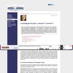 Franc-parler - Parcours : La pédagogie de projet : pourquoi ? comment ?