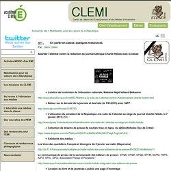 Publications du Clemi - En parler en classe, quelques ressources